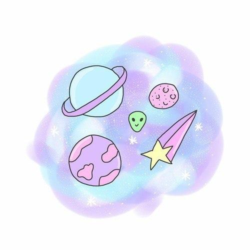 Чтобы нарисовать рисунок на тему космос в технике граттаж, вам.